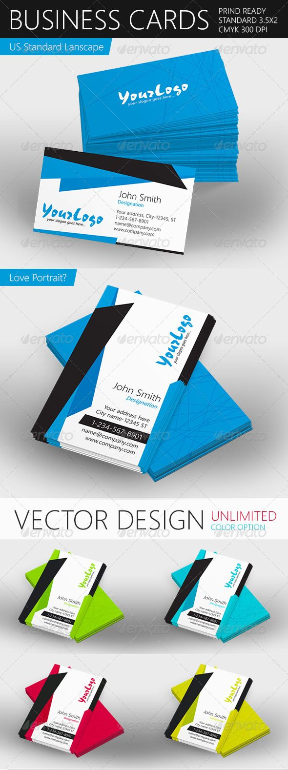 7 best design business cards images on pinterest visit cards print ready vector business card reheart Image collections