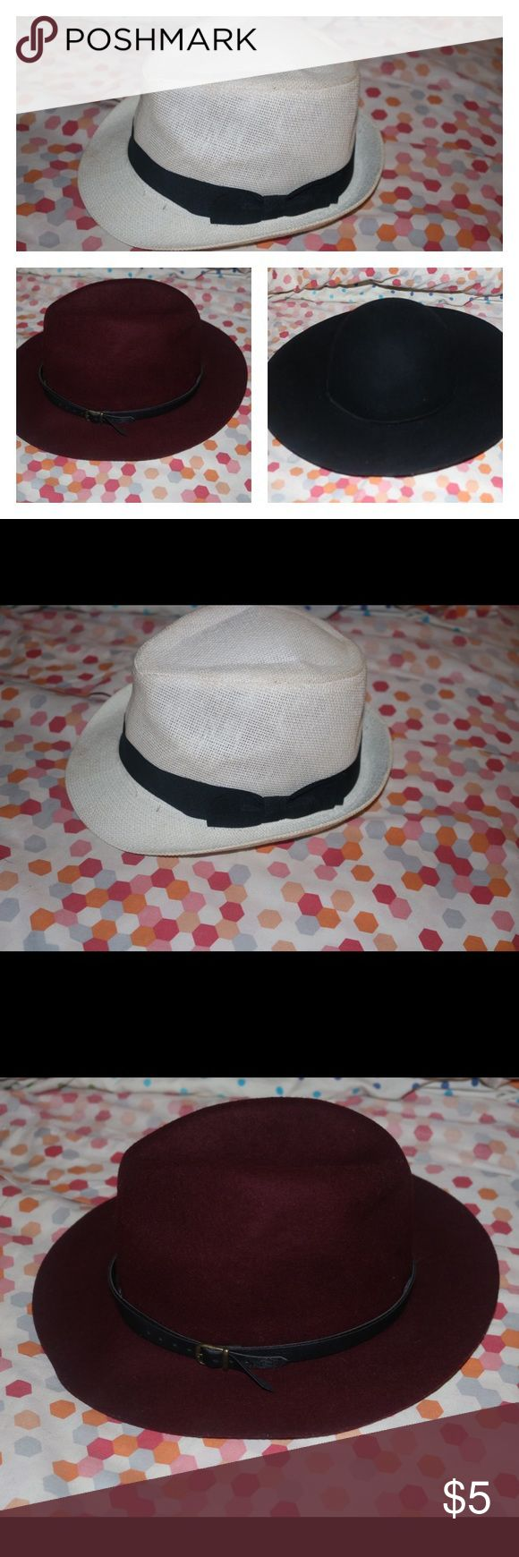 Black fedora hat Black fedora hat Forever 21 Accessories Hats