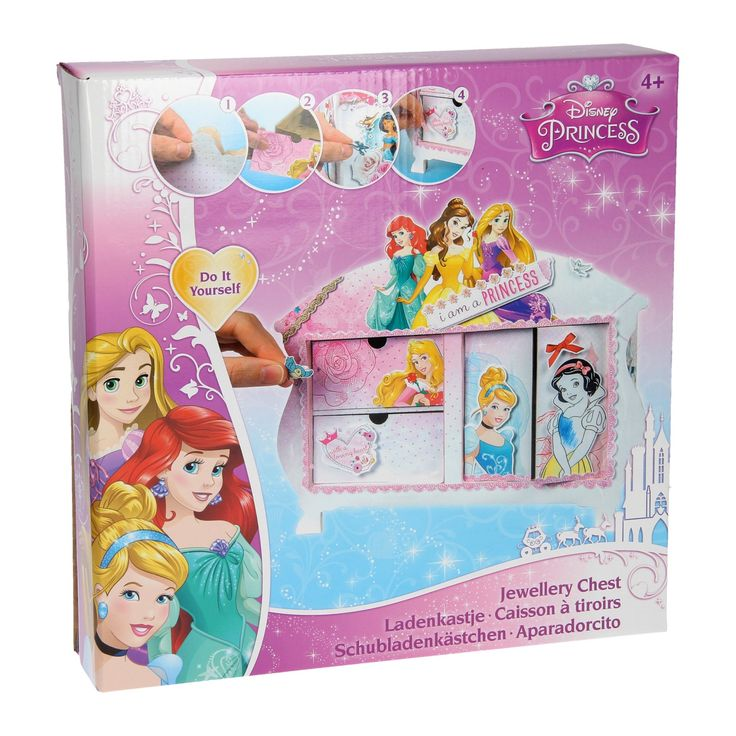 Disney Prinses Maak je eigen Ladekastje - Disney Prinses Maak je eigen Ladekastje