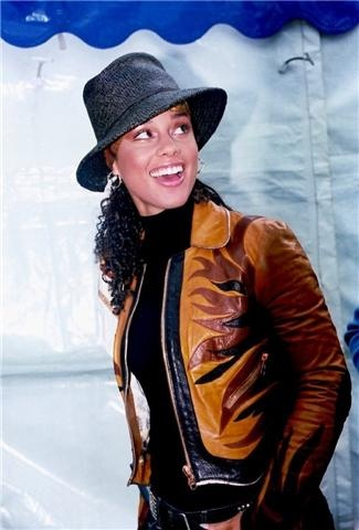 Alicia Keyes - so talented. Met during a WB business meeting.