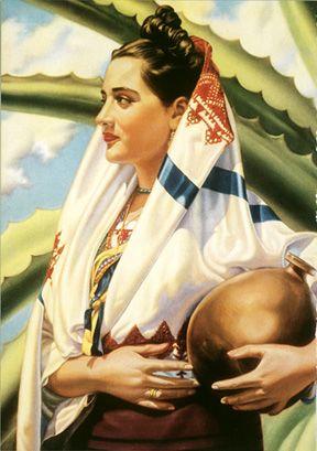 Mexico Blue Agave Tequila Senorita - Vintage Mexico Tourism Posters, Art, and Prints - Enjoy Art
