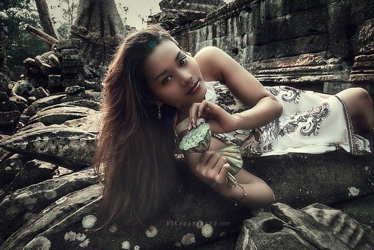 Cambodian girl by Vik  Voynikova on 500px