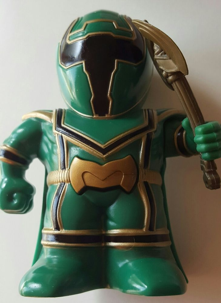 Power Rangers Mystic Force Green Ranger Figure / Armour OddzOn Inc 2005 Toy 4'' in Toys & Games, Action Figures, TV, Movies & Video Games | eBay!
