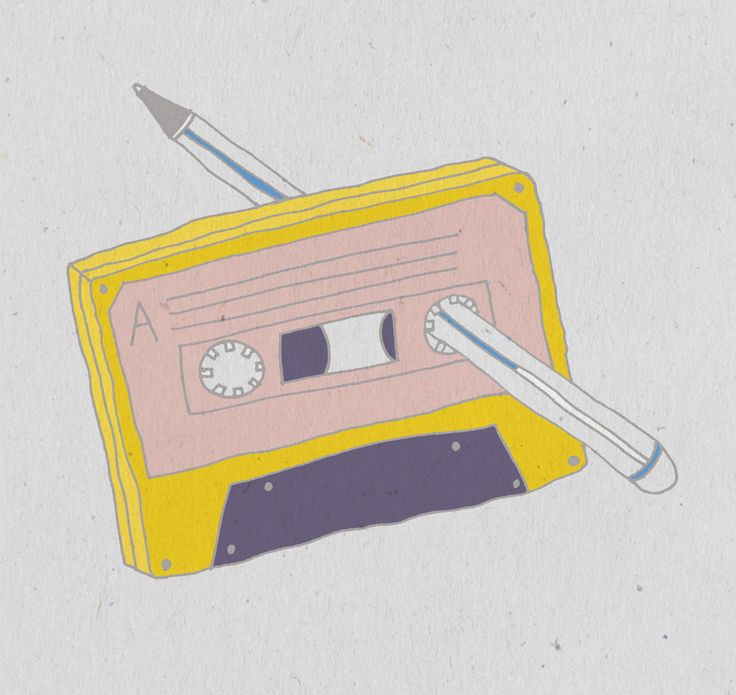 New party member! Tags: animation art animated 90s pastel illustrated casette