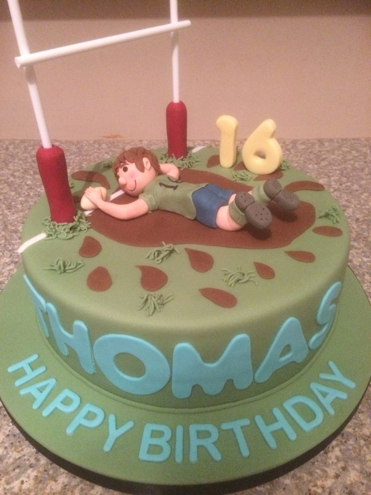 Rugby Cake … More
