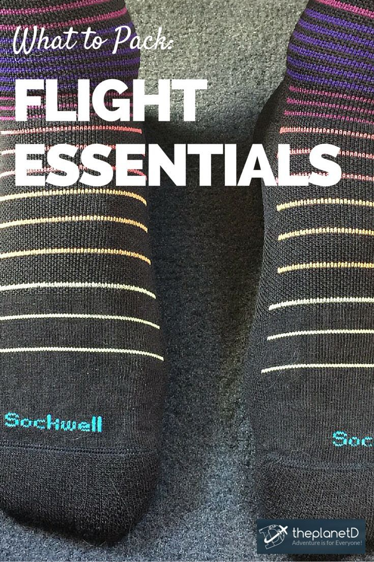 We've been test driving gear from TravelSmith and have compiled a list of items that everyone should have in their travel bags for their next flight | The Planet D Adventure Travel Blog
