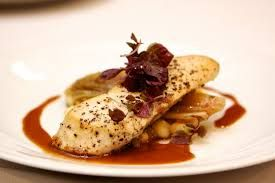 Image result for plated fish dinner