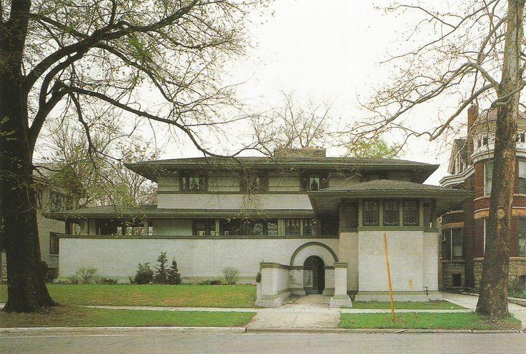 Thomas House, Oak Park, Illinois. 1901
