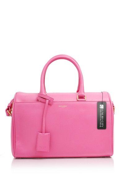 Yves Saint Laurent- Classic Duffle 6 Bag Pink #YSL #Handbags ...