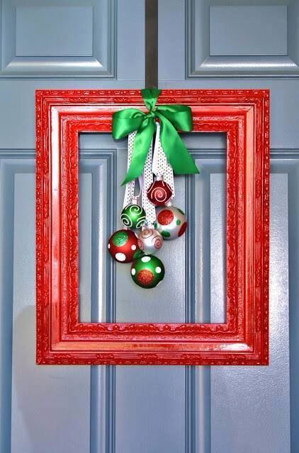 Clever #Xmas décor #upcycle #repurpose
