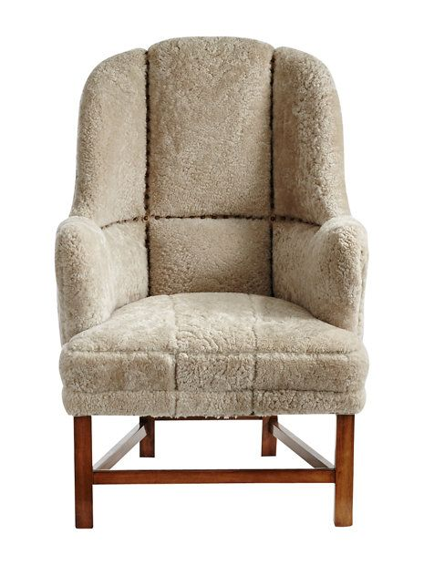 rivergate shearling chair - chairs, settees & sofas - furniture - home & gifts - Gorsuch