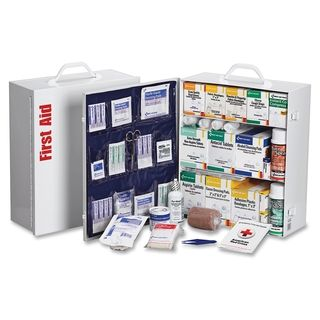 Shop for First Aid Only 3-shelf 100-person First Aid Kit. Get free delivery at Overstock.com - Your Online Healthcare Supplies Destination! Get 5% in rewards with Club O!
