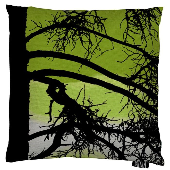 Kelohonka Dark Lime Cushion Cover