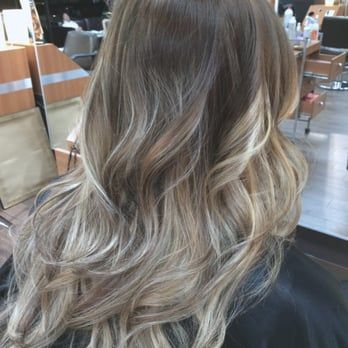from red to beautiful blond ombre. - Yelp