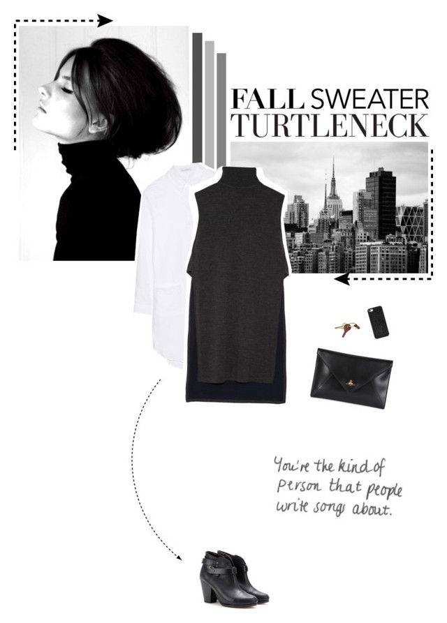 """Get Cozy: Sleeveless Turtleneck"" by aisyh93 ❤ liked on Polyvore featuring J.W. Anderson, ADAM, rag & bone, Vivienne Westwood, Crate and Barrel and BaubleBar"