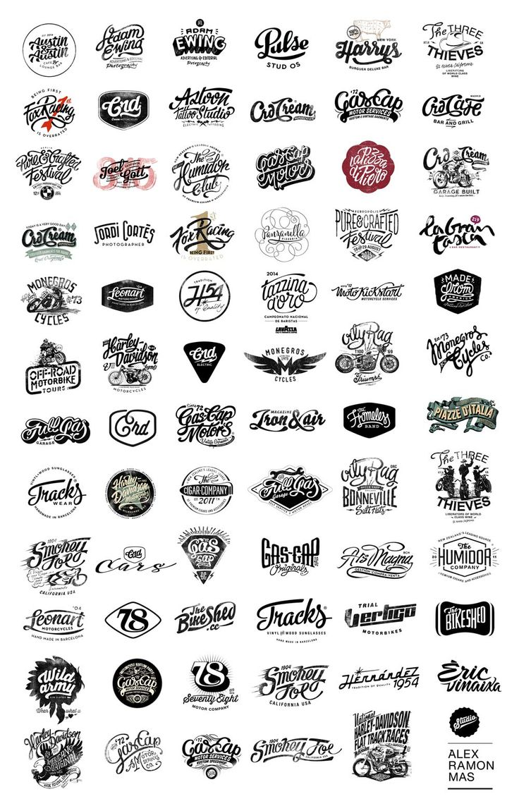 Just a compilation of all Logotypes I've made it for all clients. Alex Ramon Mas Designs http://www.alexramonmas.com/board-logos-2015/