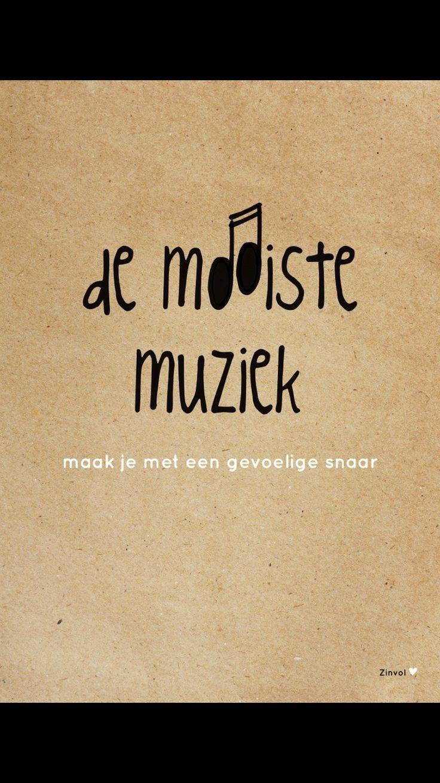 De mooiste muziek maak je met een gevoelige snaar.