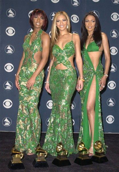 Grammy Fashion Lessons - Destiny's Child...ummm, no.