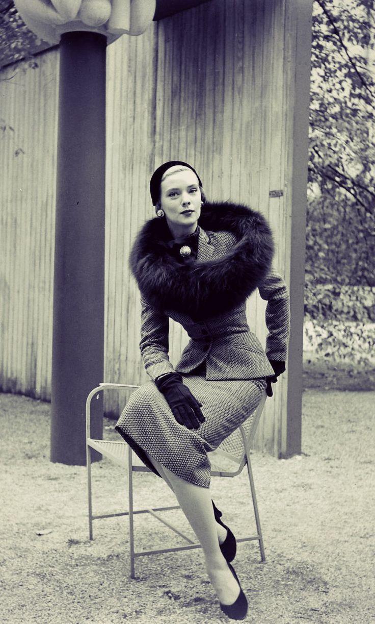 1930 y el estilo tan elegante en la mujer #Moda #Vintage