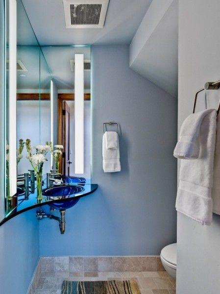 Cute Powder Room Bath Powder Shower Pinterest