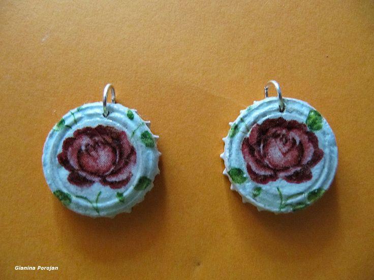 Ceramic earings