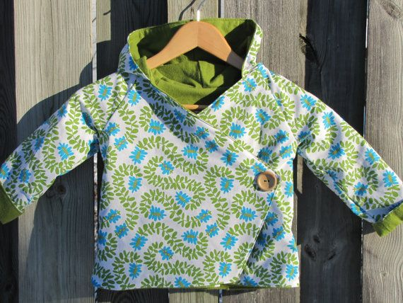 Children's Hoodie Jacket Size 3 by ReneeBou on Etsy, $49.95