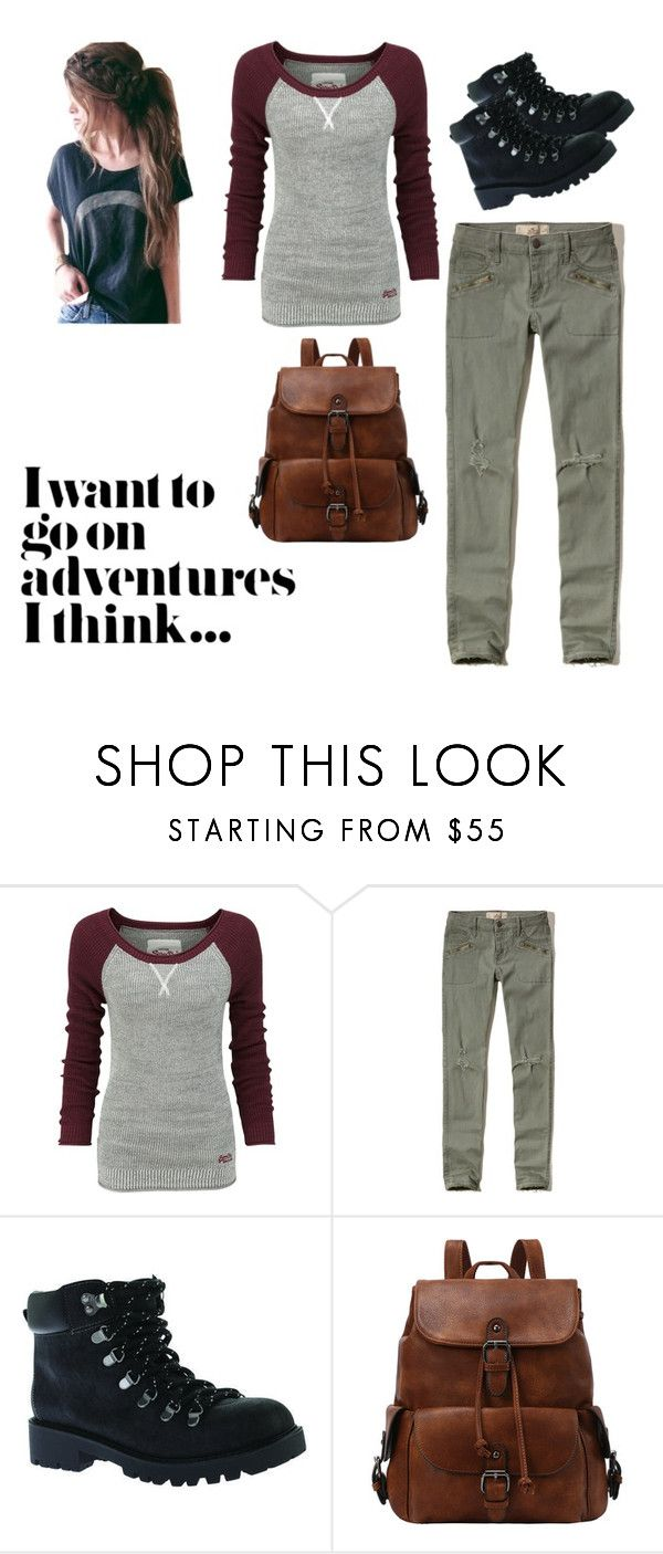 """""""Untitled #78"""" by mckiefcates on Polyvore featuring Superdry, Hollister Co. and Portland Boot Company"""