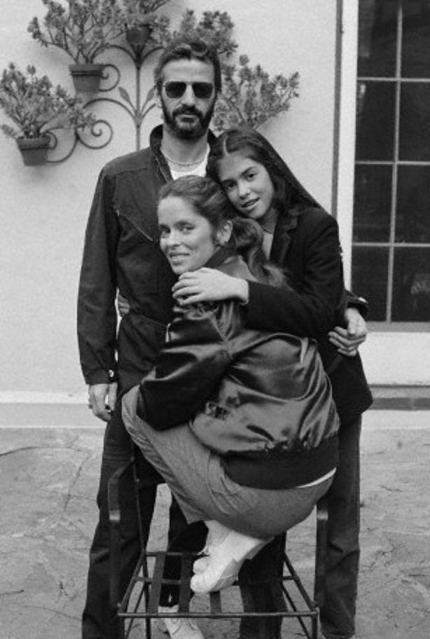 Richard L. Starkey♥♥ Barbara Bach-Starkey ♥♥with her daughter Francesca