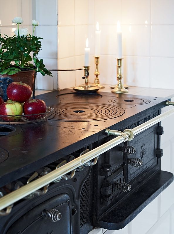 Double Swedish vedspis / wood cooker