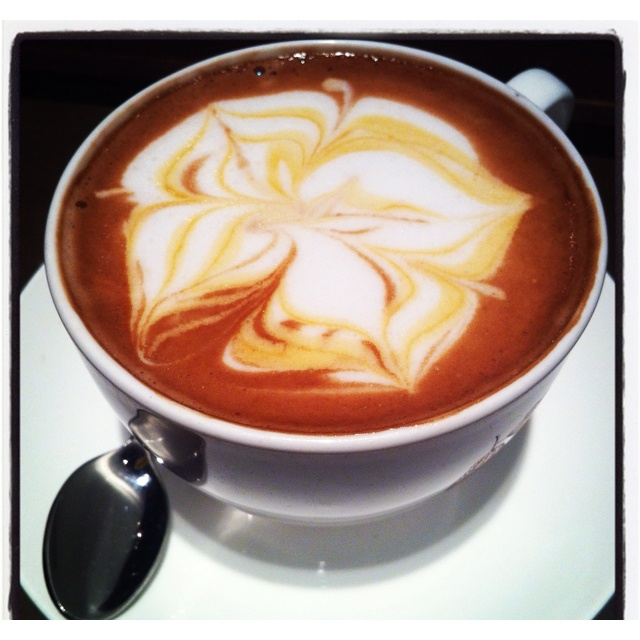 Hazelnut traditional hot chocolate from Koko Black