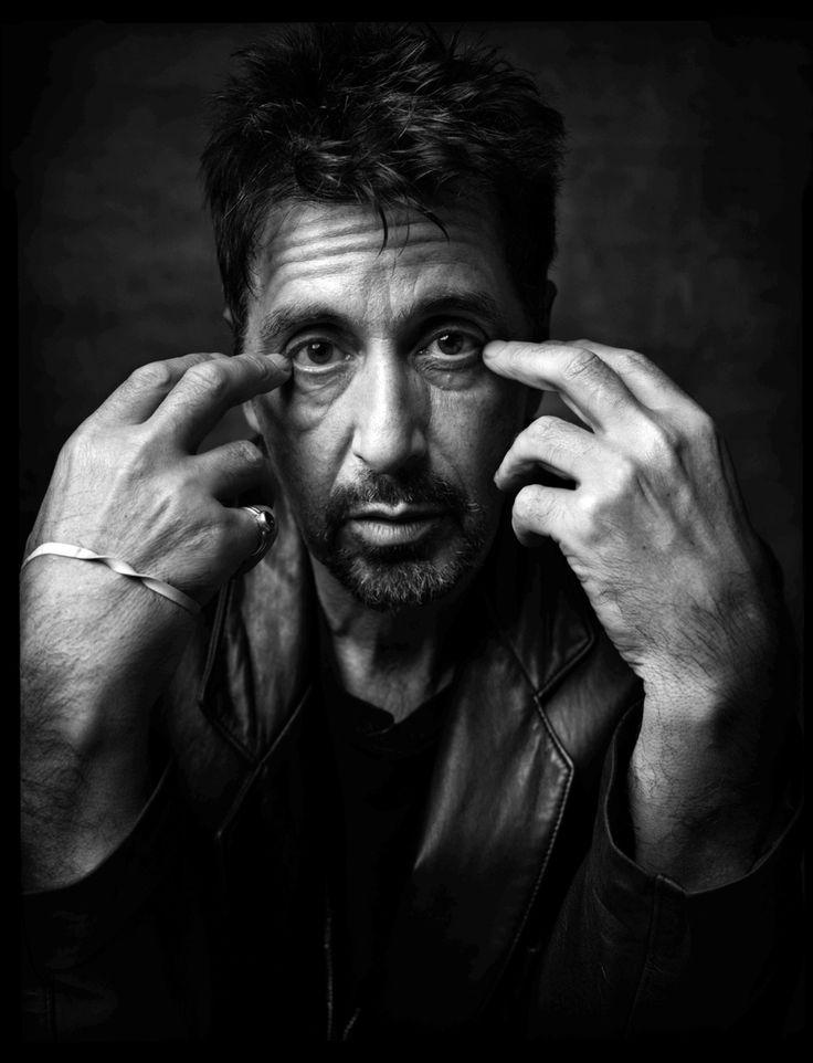 Al Pacino, Nova Iorque, 1999.  http://www.buzzfeed.com/kimberleydadds/14-retratos-de-celebridades-de-cair-o-queixo