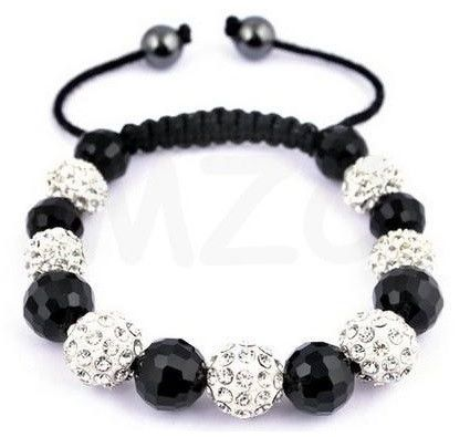 Infinity Sparkle Black And Silver