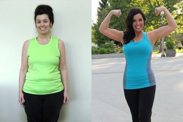 Isagenix Before & After - Angela A. #weightloss