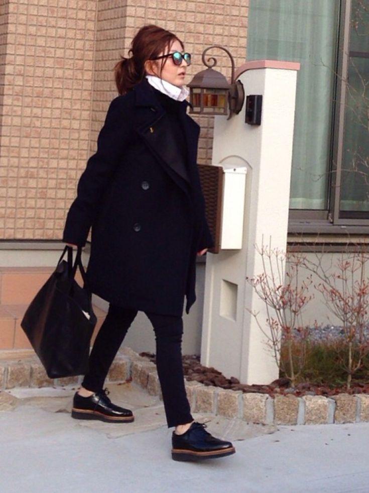 mayumiさんのトートバッグ「STUDIOUS:Lab 【BEAU'RE SECOND】シンプルトートバッグ」を使ったコーディネート
