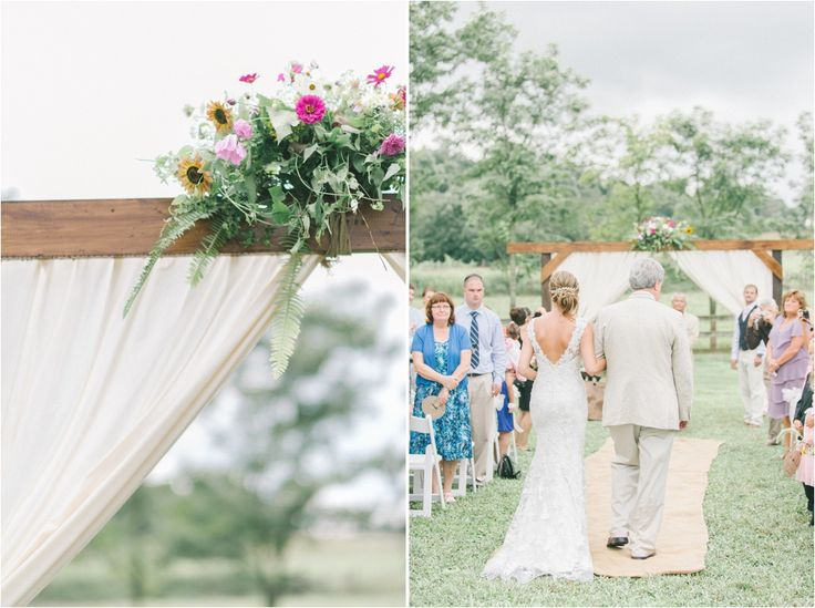 Elizabeth Fogarty Jeff Alicia Rocklands Farm Wedding