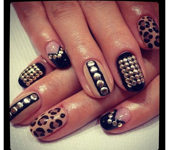 29 best Jeweled nails images on Pinterest | Nail scissors, Hair dos ...