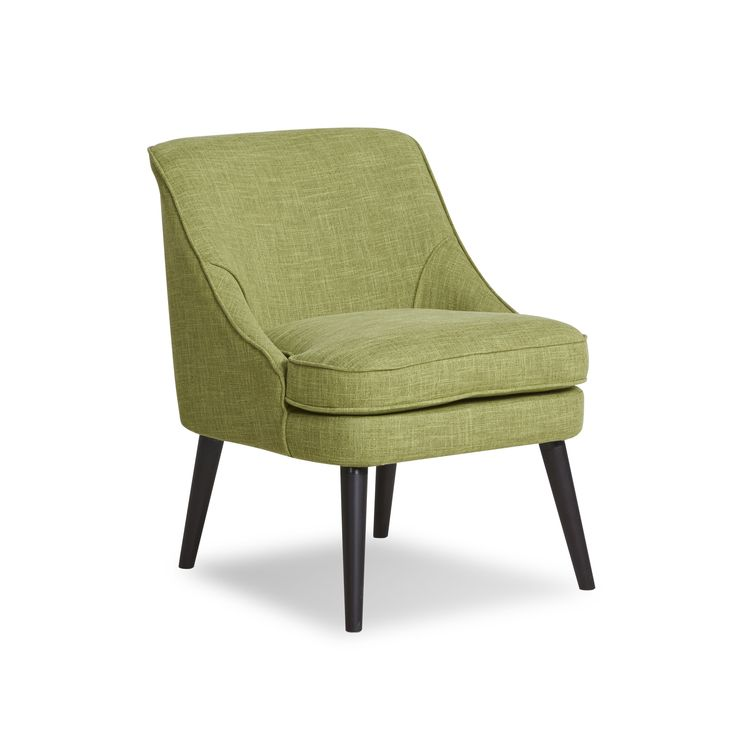 Gold Sparrow Yuma Green Accent Chair (Wood)