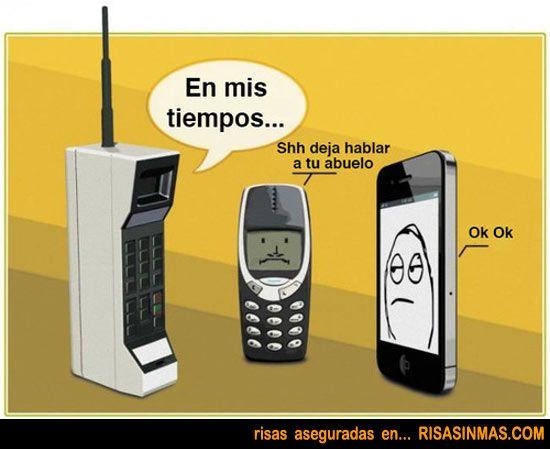 Humor gráfico - conversación telefónica