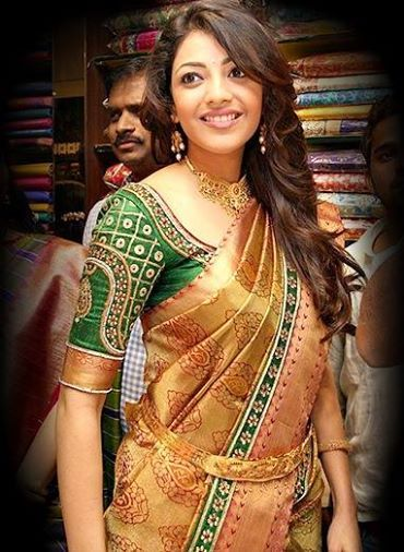 kajal agarwal traditional dress - photo #21