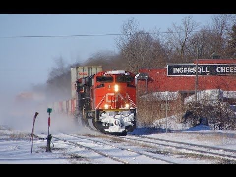 RAILREEL Ingersoll Ontario Day After 3 13 2014