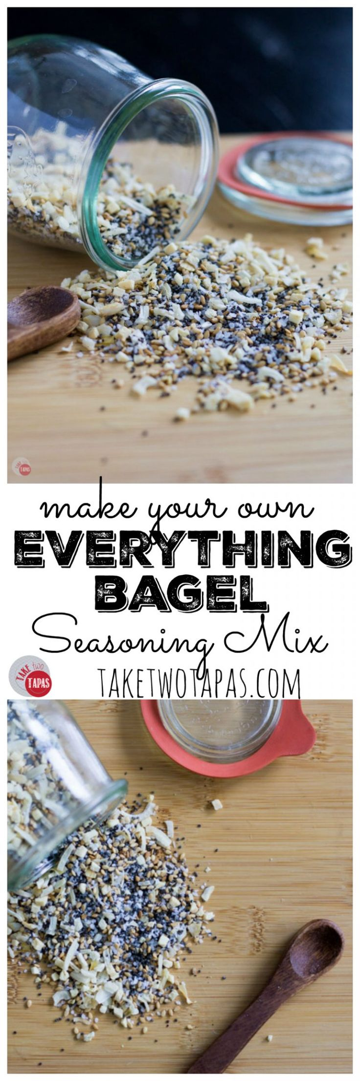 Your favorite bagel topping of poppy seeds, sesame seeds, onion, garlic, and…