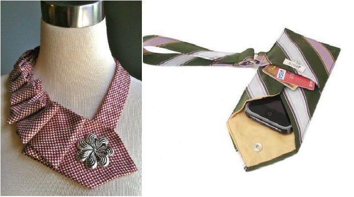 Cravatta-Gioiello e Cravatta-Busta ♫ Ricicla la moda: idee fashion per riutilizzare vecchi vestitihttp://www.bioradar.net/bionews/ricicla-la-moda-idee-fashion-per-riutilizzare-vecchi-vestiti-con-il-fai-da-te/