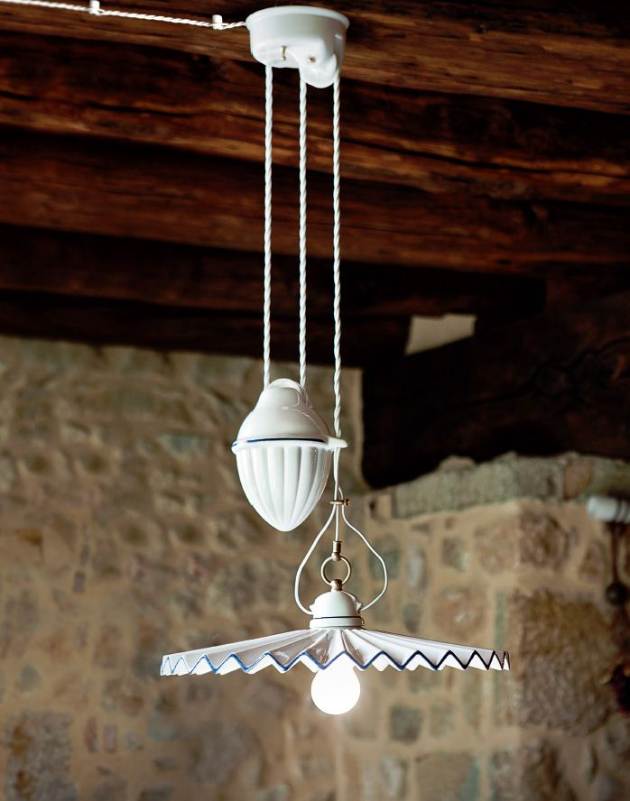 Serie Piega Lampade in Ceramica Aldo Bernardi