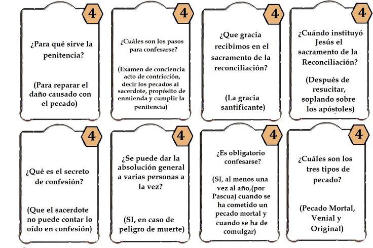 Matrimonio Definicion : Juego los siete sacramentos preguntas reconciliacion la