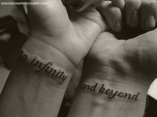 matching love tattoos for boyfriend and girlfriend Let the world know how much you care and love your will have the bond throughout their life and having these matching tattoos the_turtle_girl.