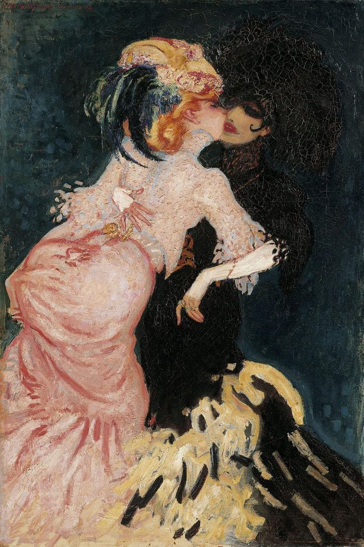 Jan Sluijters, Women kissing, 1905