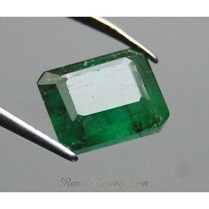 Batu Zamrud Alami 3.98 carat | Zambian Natural Emerald
