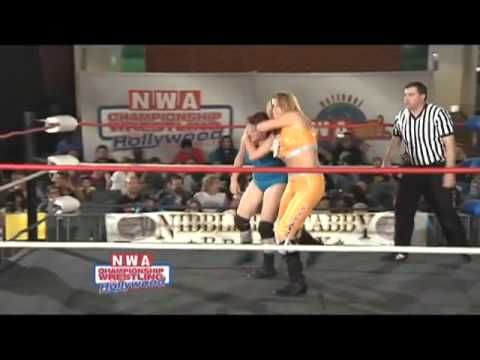NWA Championship Wrestling From Hollywood: Thunderkitty vs. Ny Knockout ...