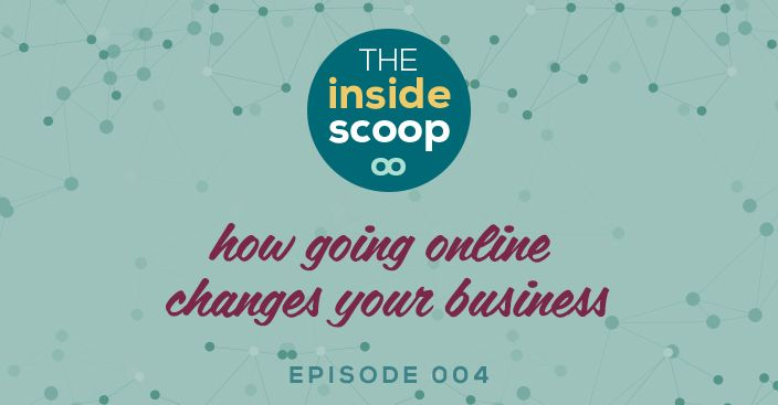 Should you really have your business on the good old world wide web? Do you need to be online? And if you go online how does that change your business?