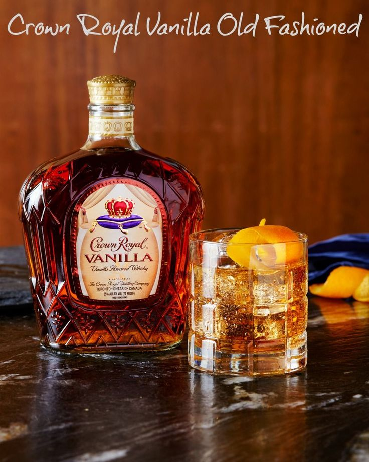 Crown Royal Regal Apple Old Fashioned